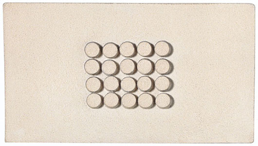 [untitled (small relief)], 1960